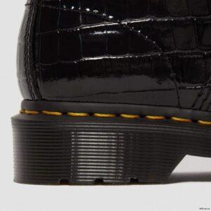 Dr. Martens 1460 Black Patent Lamper Croc 26262001