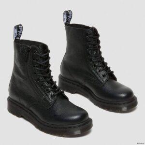 Dr. Martens 1460 Pascal Black Nappa Zipper 22008001 3 1
