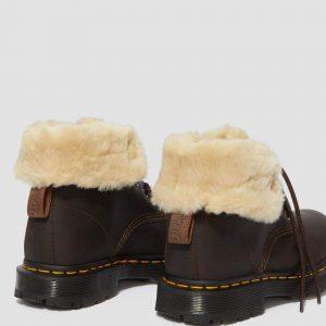 Dr. Martens 1460 Wintergrip Brown Snowplow Faux Fur 24014201 5 1