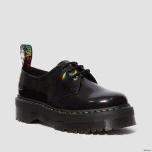 Dr. Martens 1461 Bex Black Rainbow Patent 25053001