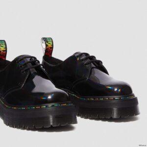 Dr. Martens 1461 Bex Black Rainbow Patent 25053001 2 1