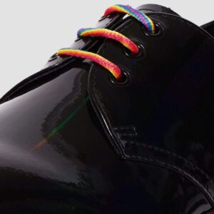 Dr. Martens 1461 Bex Black Rainbow Patent 25053001 5 1