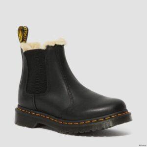 Dr. Martens 2976 Black Wyoming Faux Fur 21045001 1 1