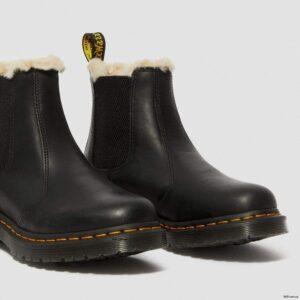 Dr. Martens 2976 Black Wyoming Faux Fur 21045001 4 1