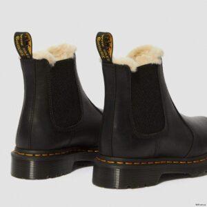 Dr. Martens 2976 Black Wyoming Faux Fur 21045001 5 1