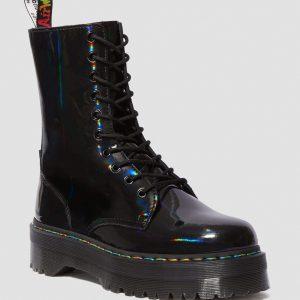 Dr. Martens Jadon Hi Black Rainbow Patent 24668001 0 1