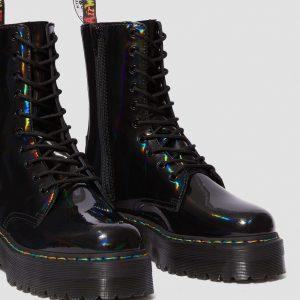 Dr. Martens Jadon Hi Black Rainbow Patent 24668001 2 1