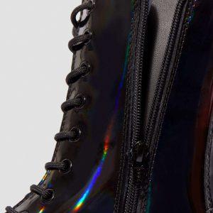 Dr. Martens Jadon Hi Black Rainbow Patent 24668001 5 1
