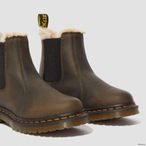 Dr. Martens Leonore Olive Burnished Wyoming 24988355 2 1