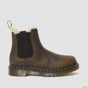 Dr. Martens Leonore Olive Burnished Wyoming 24988355 4 1
